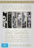 World Class Documentaries (6 Films) - 7-DVD Box Set ( The Celluloid Closet / Grey Gardens / The Times of Harvey Milk / Little Dieter Needs t [ Origen Australiano, Ningun Idioma Espanol ]