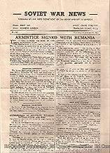 Soviet War News No. 961 Thursday, September 14, 1944