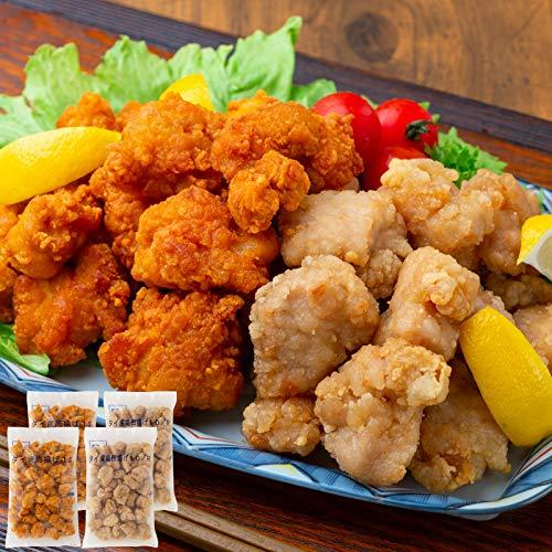 若鶏もも唐揚げ&竜田揚げセット(計4kg)