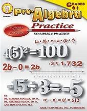 Pre-Algebra Practice Book, Grades 6 - 8