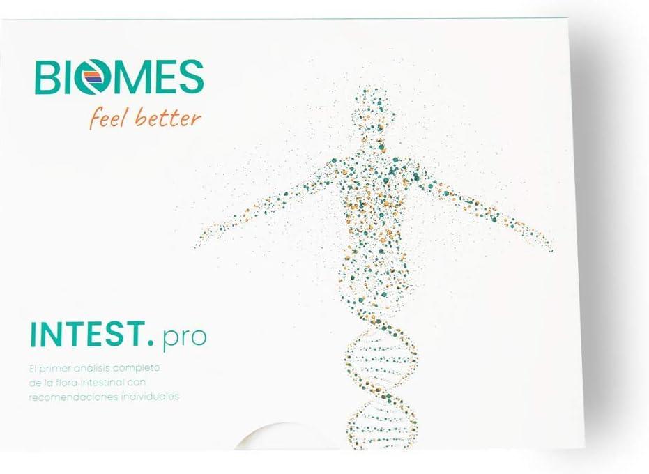 INTEST.pro Análisis de Flora Intestinal - Test de Microbiota - Comprende tus problemas intestinales, detecta deficiencias inmunológicas, reduce problemas de peso, incl. recomendaciones nutricionales