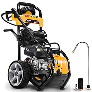 Wilks Genuine USA TX750i Petrol Pressure Washer - 8.0HP 3950psi / 272Bar by Wilks-USA