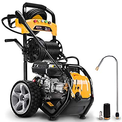 Wilks Genuine USA TX750i Petrol Pressure Washer - 8.0HP 3950psi / 272Bar from Wilks-USA