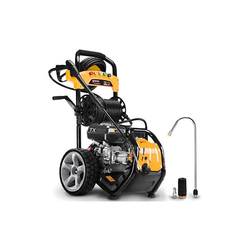 Wilks-USA TX750i Benzin Hochdruckreiniger Quick Connect Düsenaufsätze 8,0 PS – 3950 PSI / 272 bar