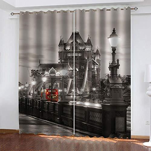 cortinas opacas blanco