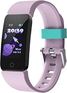 DoSmarter Fitness Tracker Watch for Kids Boys Girls, Waterproof Health & Activity Tracker for Kids with Step Calories Coun...