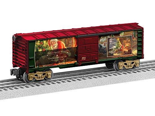 Lionel Thomas Kinkade, Electric O Gauge Model Train Cars, Santa's Special Delivery Boxcar