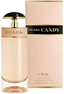 Prada Candy Eau de Toilette Spray for Women, 2.7 Ounce