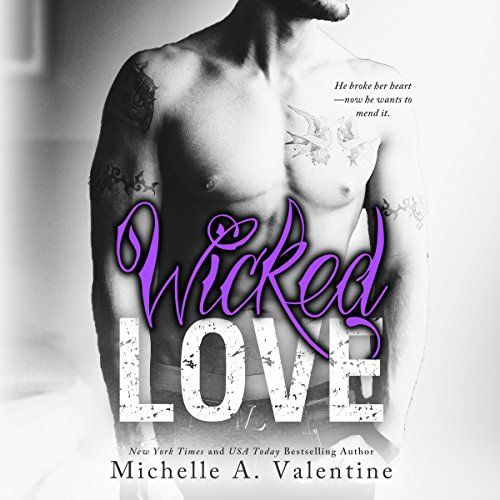 Wicked Love audiobook cover art
