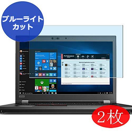 VacFun 2 Piezas Filtro Luz Azul Protector de Pantalla para Lenovo ThinkPad P72 20MBCTO1WW 17.3