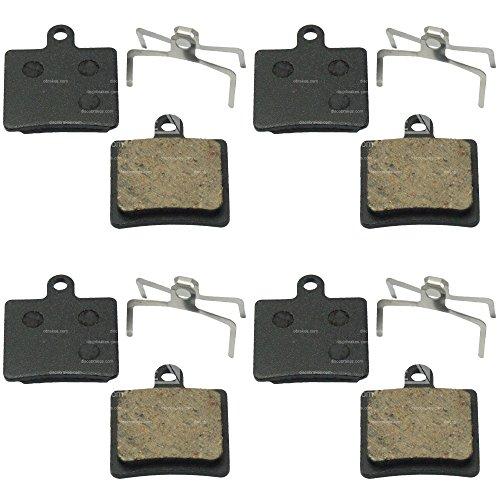 4 Paires Plaquettes de Freins à disque pour Hope. Mini, Mono, M4, C2, Ti6 moto Tech x2. Composé : sinterizzate, Semi métalliques, céramique ou Kevlar, Mini Sistema Original