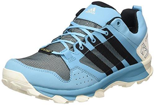 adidas Kanadia 7 TR GTX W, Zapatillas de Running para Asfalto para Mujer, Multicolor (Vapour Blue/Core Black/Clear Aqua), 36 2/3 EU
