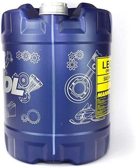 Mannol Legend Ester 0w 40 Api Sn Cf Engine Oil 10 Litres Auto