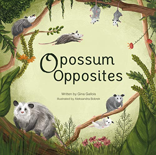 Opossum Opposites (Awesome Opossum Stories Book 1) (English Edition)