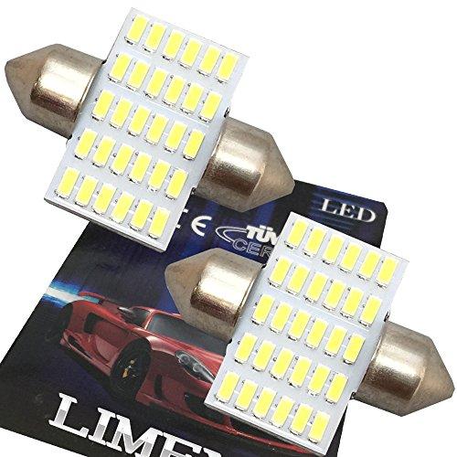 【最新 業界初 爆光】LIMEY T10×31mm LED ホワイト 白 30連 ルームランプ 驚きの明るさ 6000K 12V車専用 取...
