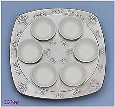 Aluminum Elevated Seder Plate Orange Mix