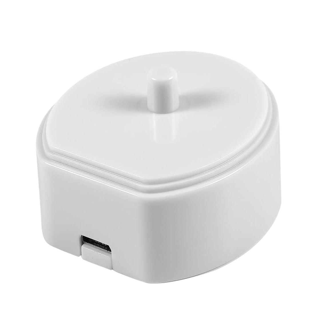 バルーンヶ月目集中ACAMPTAR Hx6730 Hx6721 Hx3216 Hx3226 Hx6616 Hx3120用電動歯ブラシUsbポータブル充電器充電クレードルドック(ホワイト)