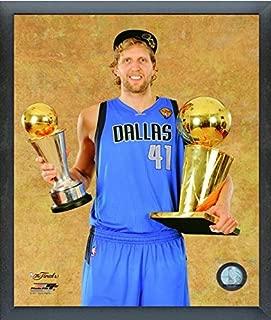 NBA Dirk Nowitzki Dallas Mavericks Finals Trophy Photo (Size: 12