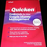 Quicken Essentials for Mac, Simple Money Management (SKU 417201)