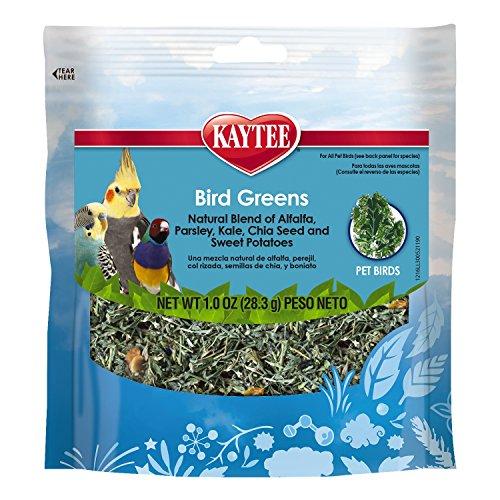 Kaytee Products C 529082 All Birds Chia/Sweet Pota Foraging Treat Bird Greens, 1 oz