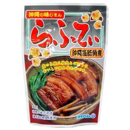 沖縄の味じまん らふてぃ(ラフテー) ゴボウ入り 165g 10袋