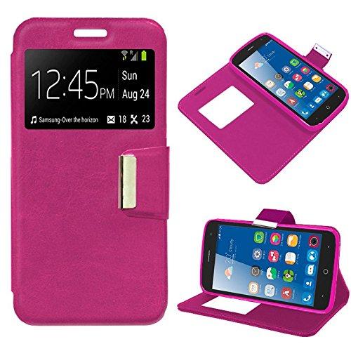 iGlobalmarket Funda Flip Cover Tipo Libro con Tapa para ZTE Blade L7 Liso Rosa: Amazon.es: Electrónica