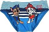 La Patrulla Canina - Bañador para bebé y niño, Color Azul y Rojo de 12 a 36 Meses Azul 36 Meses