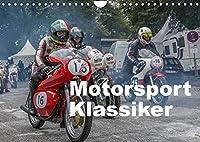 Motorsport Klassiker (Wandkalender 2022 DIN A4 quer): Motorsport Klassiker aus den Jahren von 1932 bis 1986 (Monatskalender, 14 Seiten )
