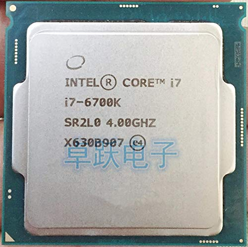 6 Series Processor I7 6700K I7-6700K CPU LGA 1151-land FC-LGA 14 nanometers Quad-Core CPU