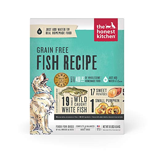 The Honest Kitchen Human Grade Dehydrated Grain Free Fish Dog Food 10 lb - Zeal