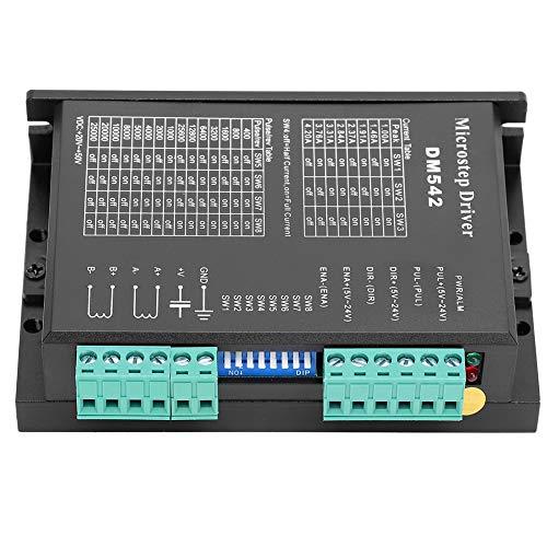 Marhynchus Microstep Driver Driver motore passo-passo Controllo corrente PWM a 2 fasi ad alta suddivisione DM542 per macchina per incisione, CNC