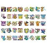 BLOUR 1 pièces Kawaii Japon Anime Pokemon Papier Autocollant Papeterie Scrapbooking Ordinateur Portable étiquette Bureau Poste Balle Journal Art Fournitures