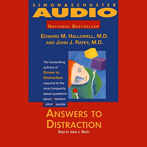 Answers to Distraction audiobook cover art