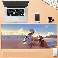 アニメゲーミングマウスパッド大マウスマット XXL キーボードマット拡張マウスパッドコンピュータのデスクトップ PC ラップトップのマウスパッド-A_700X300X3mm