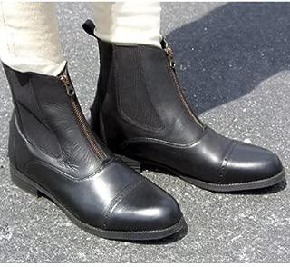 Exselle Women's Elite Zipper Style Paddock Boots