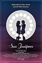 by COOLEST Black Mirror TV Show San Junipero Uploaded in The Cloud Kelly Booth Gugu Mbatha-Raw Yorkie Mackenzie Davis 12 x 12 inch Poster Rolled