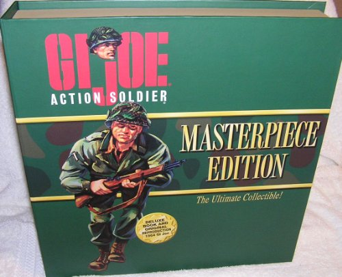 GI Joe Action Soldier Masterpiece Edition 1964 Reproduction with Brunette Hair