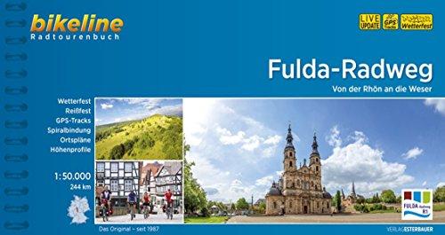Bikeline Radtourenbuch, Fulda-Radweg: Von der Rhön an die Weser. Radtourenbuch und Karte 1 : 50 000, 245 km, wetterfest/reißfest, GPS-Tracks Download