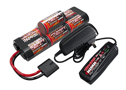 Traxxas Battery/Charger Completer Hump Pack with 2-amp Fast Charger and 8.4V NiMH Battery