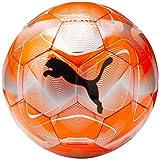 PUMA Future Flash Ball Ballon De Foot Mixte Adulte, NRGY Red-Silver-Grey Dawn Black, 4