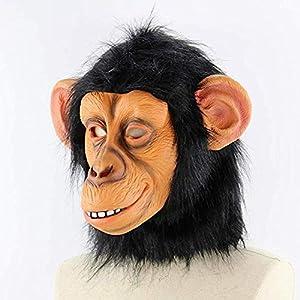 Big ears Monkey Masks Funny Costume party Monkey Props , Halloween Gorilla Mask