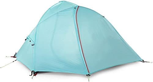 Sortie Udstyr, Tente Tente 1-2 Personne Randonnée Camping Tente Ultra-Léger Bleu gris, Kejing Miao, 2 personne bleu