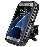 Impermeabile e Cellulare Custodia per Moto,Weideworld 5,5'-6,2' Universale Supporto Cellulare Impermeabile Custodia, Borsa, Borsetta per Bicicletta/Bici per Smartphone (5.5'-6.2')