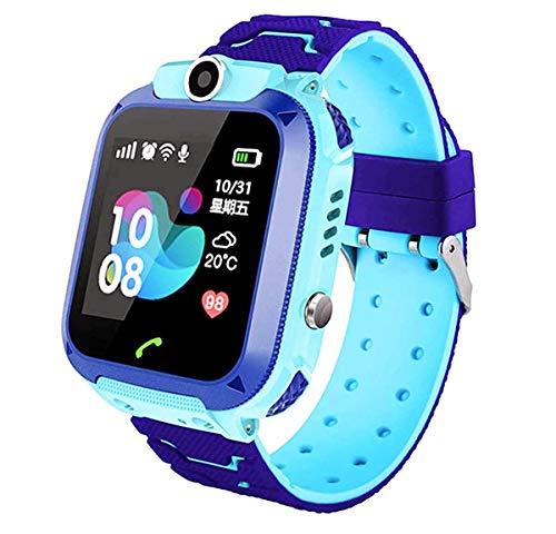 Smartwatch Niños, Reloj Inteligente Niña IP67, LBS, Hacer Llamada, Chat de Voz, SOS, Modo de Clase, Cmara, Juegos, Regalo para Niños de 3-12 años, soporta 2G tarjetáas Micro SIM