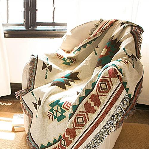 WWWL Stranddecke Decke Baumwolle Picknick Camping Decke Marke Flanell Schlafzimmer Decken Sommer Bettdecke In klimatisierten Zimmer Color A