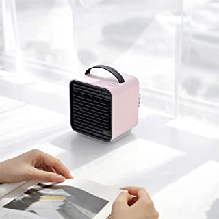 Mini USB Cooling Fan Portable Negative Ion Air Conditioner Fan with 3 Speeds, Side Water Inlet and 150Ml Water Tank for Ho...
