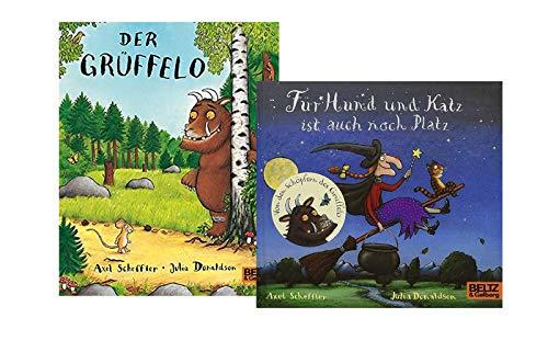 Für Hund und Katz ist auch noch Platz + Der Grüffelo: Vierfarbiges Pappbilderbuch-Set