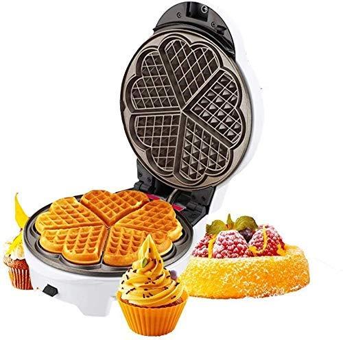 Molde de waffle de 2 rebanadas de aluminio fundido de aluminio fundido de aluminio de calidad uniformemente para gases de gas para el desayuno, el almuerzo o los bocadillos fangkai77