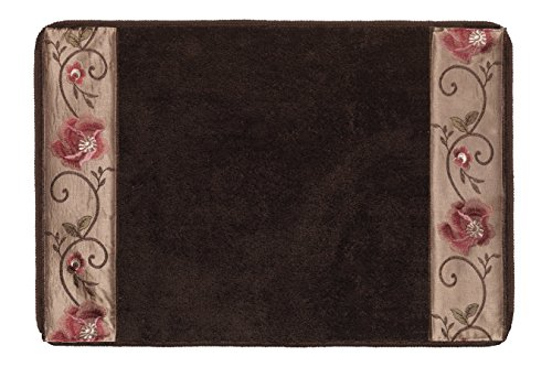 Popular Bath Bath Rug, Larissa Collection, 21