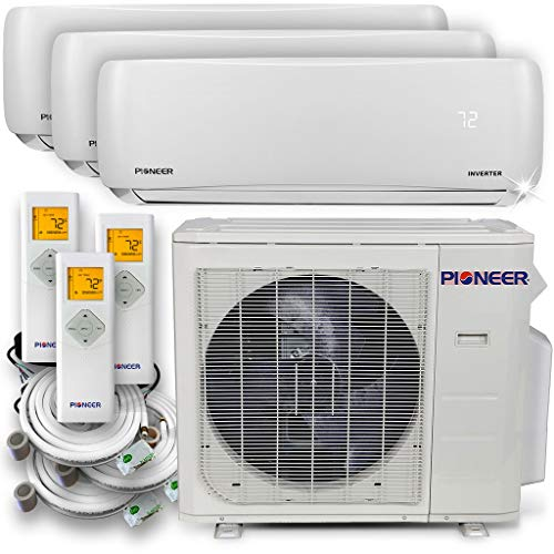 PIONEER Air Conditioner WYS030GMHI22M3 Multi Split System, Trio (3 Zone)